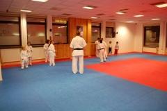 Sensei with new beginners