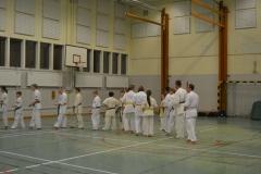 Sweden Kyokushin Winter Camp  day 1  2013