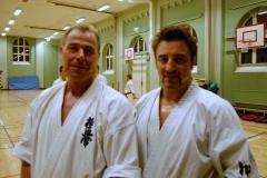 Wiklund dojo wintercamp with Sensei Nicholas Pettas